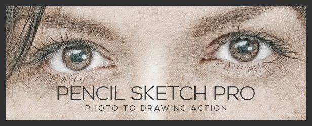 Pencil Sketch Pro | Photoshop Action