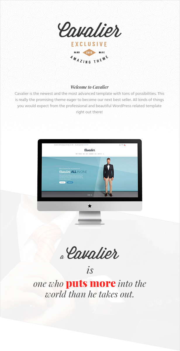 Cavalier - We Sell the Trends. Woocommerce Theme - 2