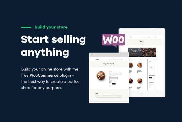 Le Truffe | Chocolate Boutique WordPress Theme - 3