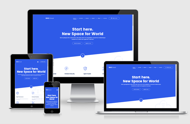 BNSCloud   Multipurpose Hosting with WHMCS Templates by themelooks
