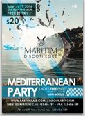 Mediterranean Event Flyer Template