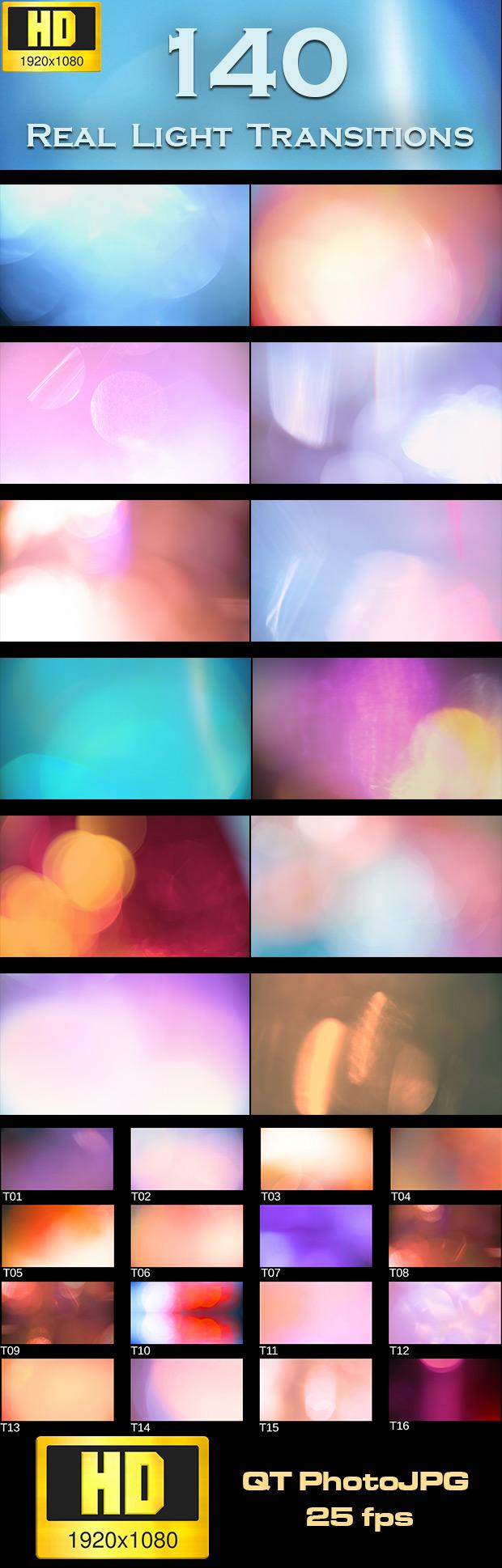 140组真实灯光镜头光晕漏光闪光曝光背景虚化效果转场光过渡视频素材-CG海
