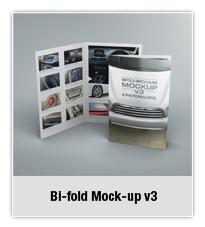Bifold Brochure Mock-up 02 - 2