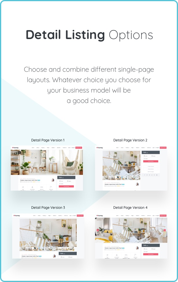 Homey - Booking and Rentals WordPress Theme - 17