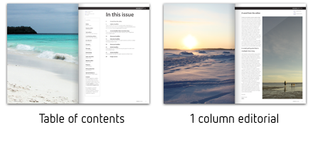 Modern Magazine InDesign template by ottonova | GraphicRiver