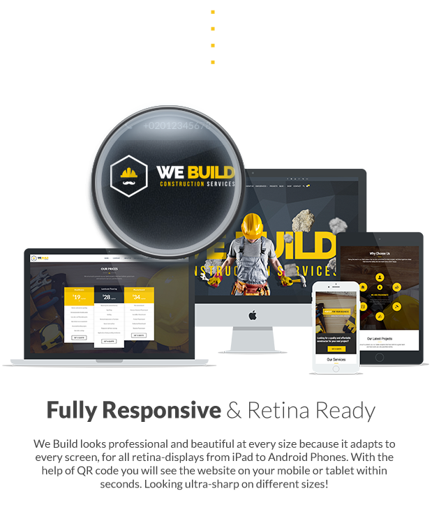 We Build - Construction WordPress Theme - 11