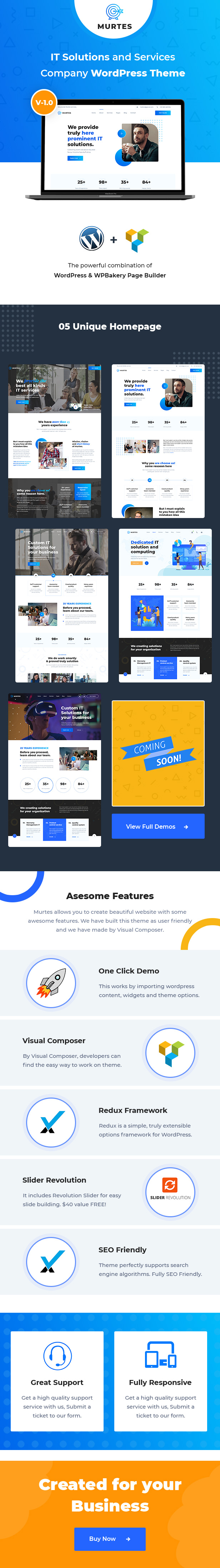 IT Solutions and Services Company WordPress