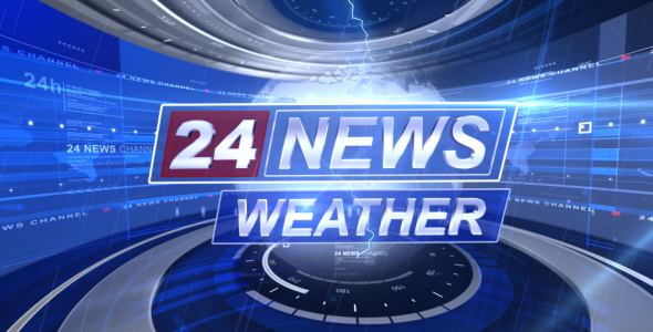 Broadcast Design - Complete News Package - 12