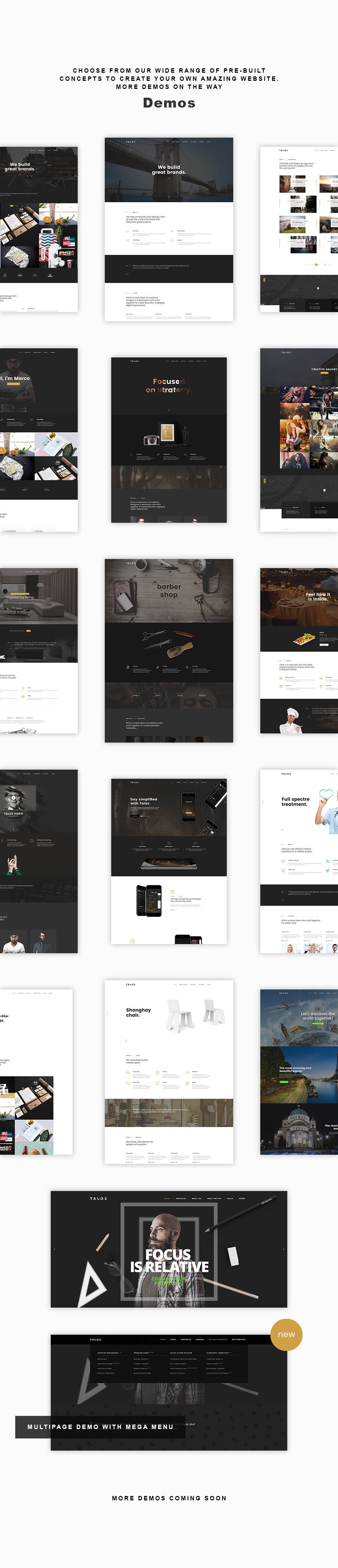 Talos 1 - Creative Multipurpose WordPress Theme