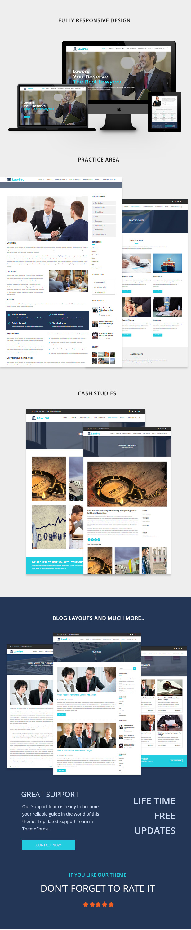 Lawpro - A Professional WordPress Theme for Attorney & Lawyer - 5