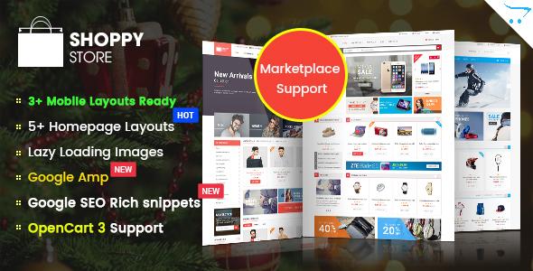 ShoppyStore - Multipurpose eCommerce HTML5 Template by magentech