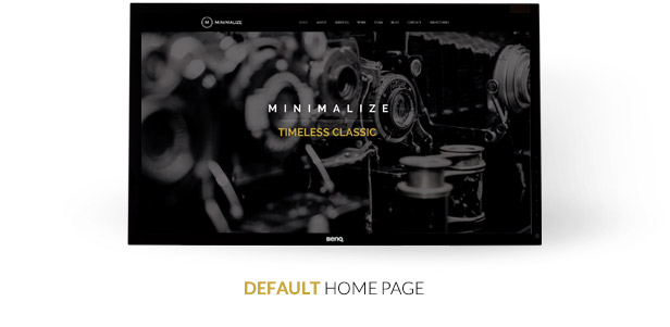 Minimalize | Single Page Theme - 2