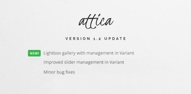 Attica 1.2 Update