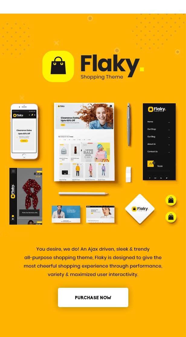 Flaky - An eCommerce Theme - 2