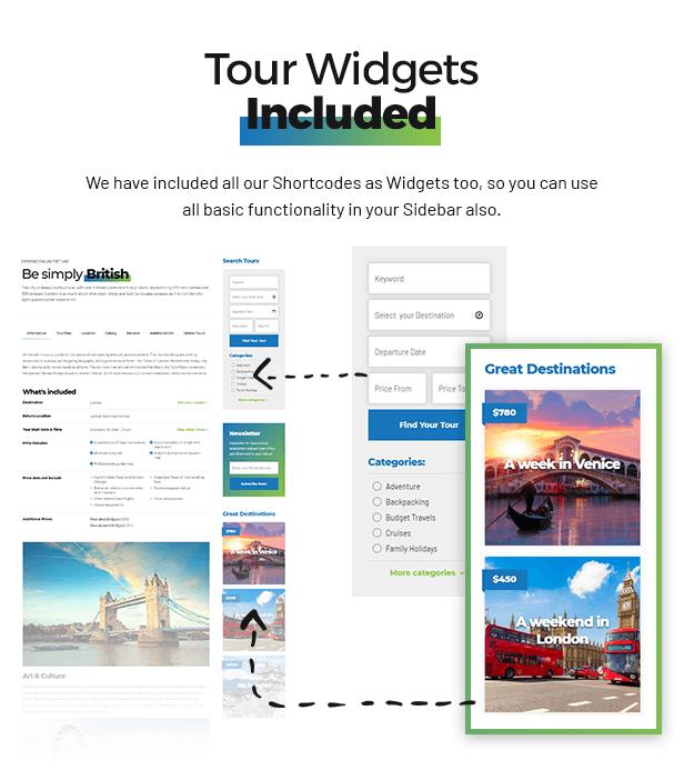 Travelicious - Tourism, Travel Agency & Tour Operator WordPress Theme - 8