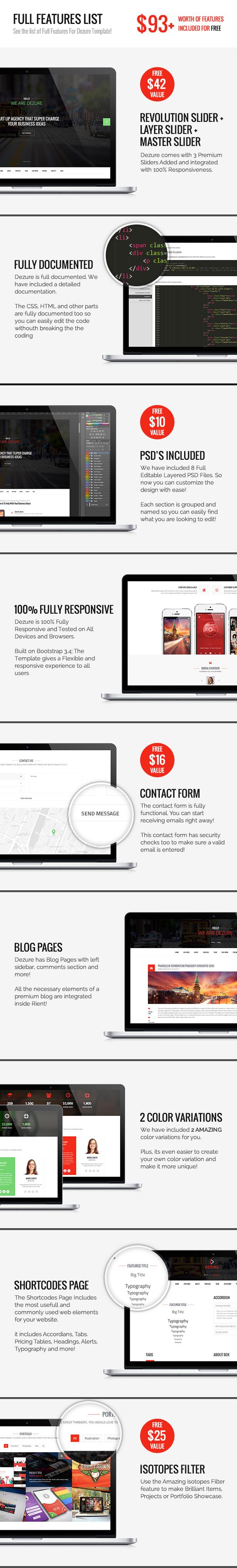 Dezure | Responsive OnePage Multi-Purpose Parallax - 3