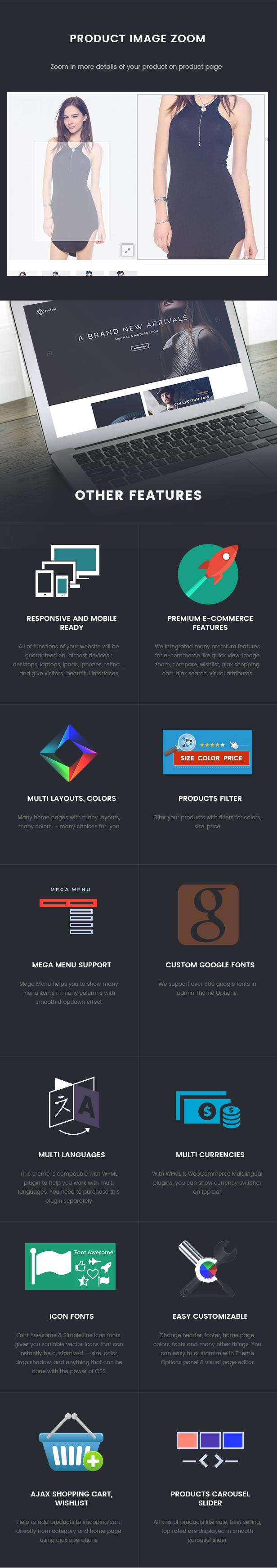 Facon - Fashion Responsive WordPress Theme 27