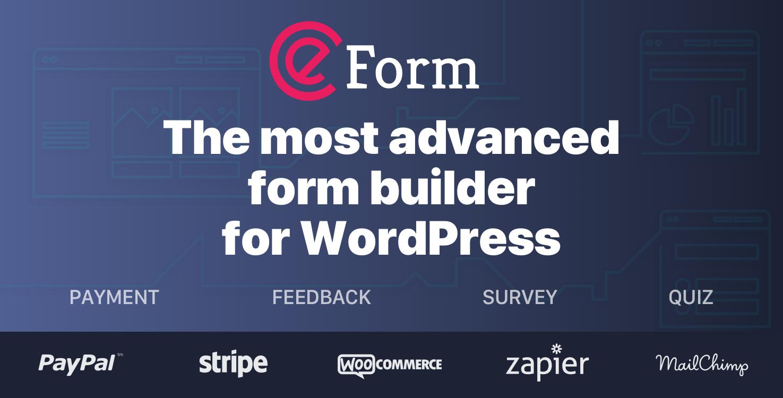 eForm WordPress Form Builder