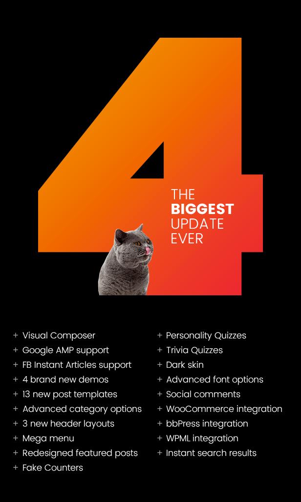 Bimber Viral Magazine WordPress Theme - version 4.0