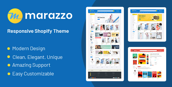 Marazzo - Drag & Drop Sectioned Ecommerce Shopify Template
