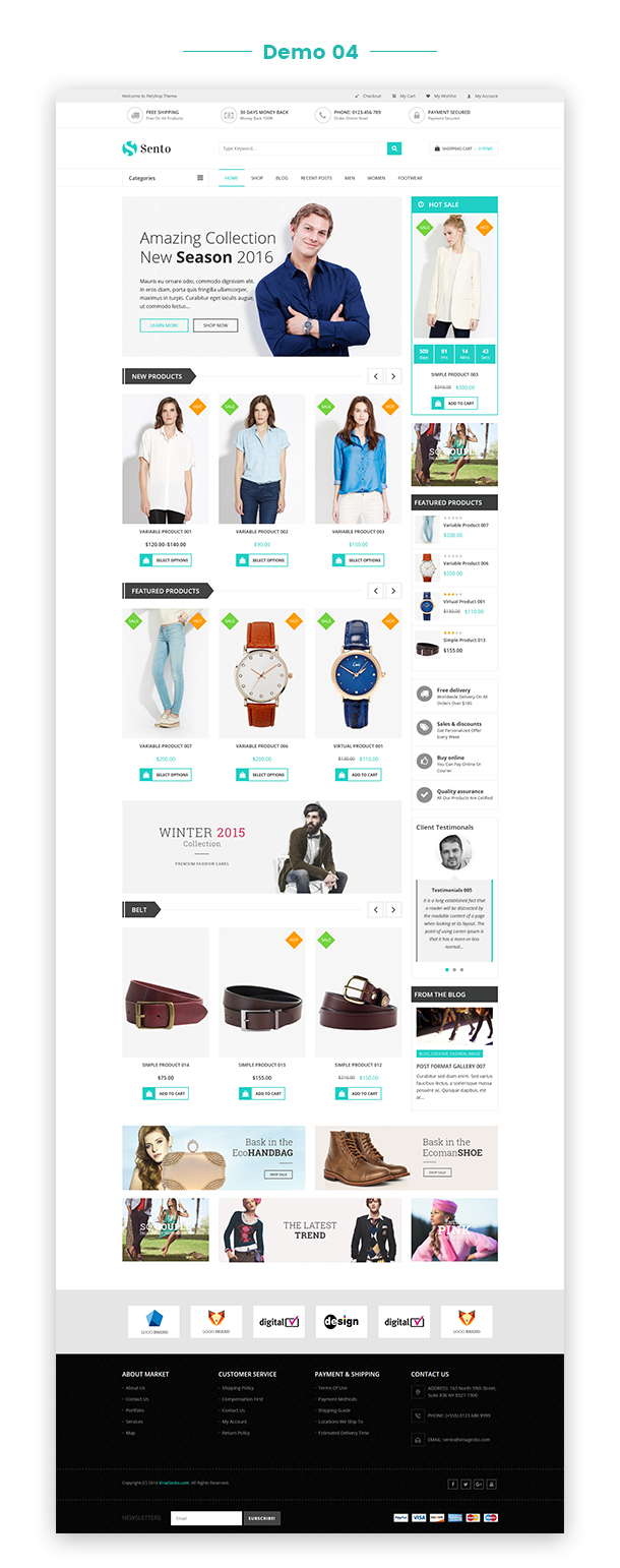 VG Sento - eCommerce WordPress Theme for Fashion Store - 29