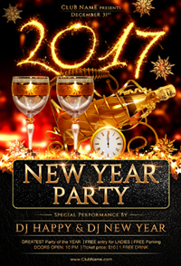 New Year Party Flyer Template - 15