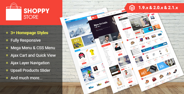 Shoppy store - Magento 2 Theme