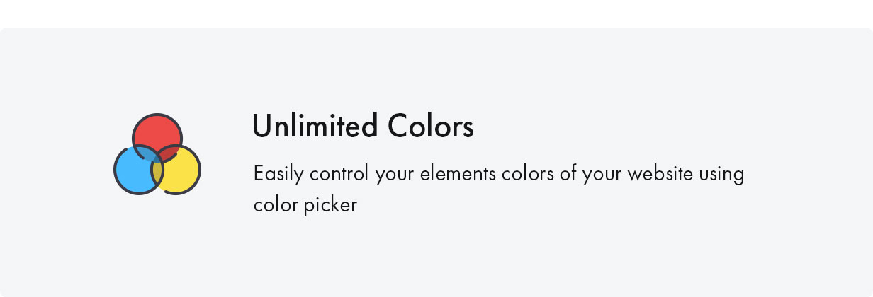 Konte WooCommerce theme - Unlimited color schemes