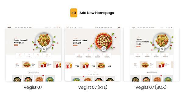 Vegist - The  Vegetables, Supermarket & Organic Food eCommerce Shopify Theme - 3