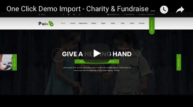 Charity & Fundraise Non-profit WordPress Theme
