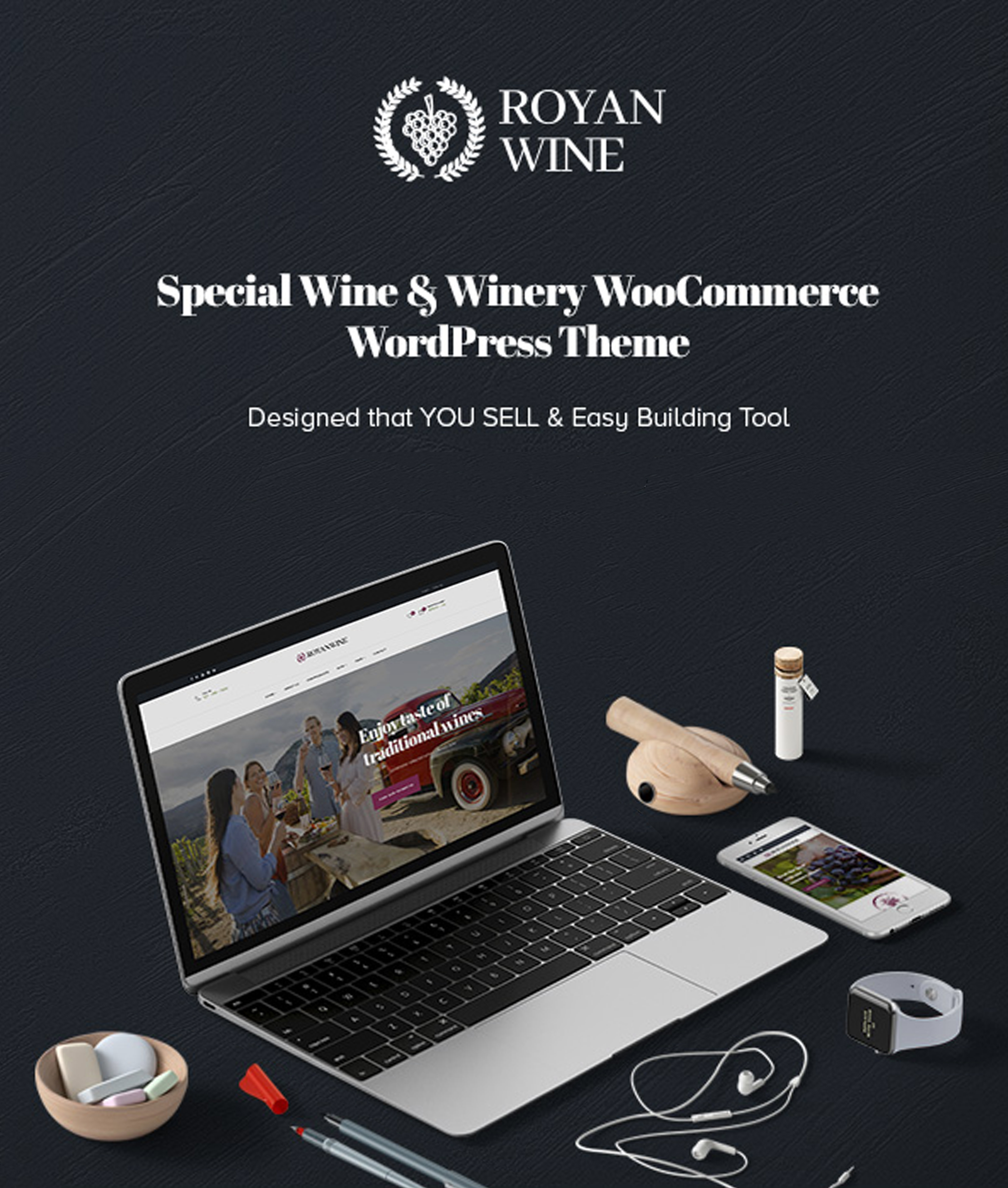 Royanwine - Best Vineyard, Winery, Wine maker, Dairy Farm WordPress Theme/WpOpal