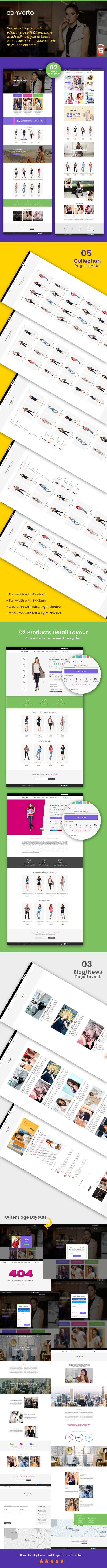 Converto - Conversion Optimized eCommerce HTML5 Template - 1