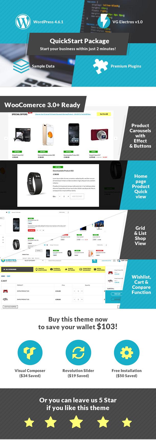 VG Eletros - Electronics Store WooCommerce Theme - 17