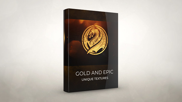 Gold Epic And Power Logo Reveal - 2