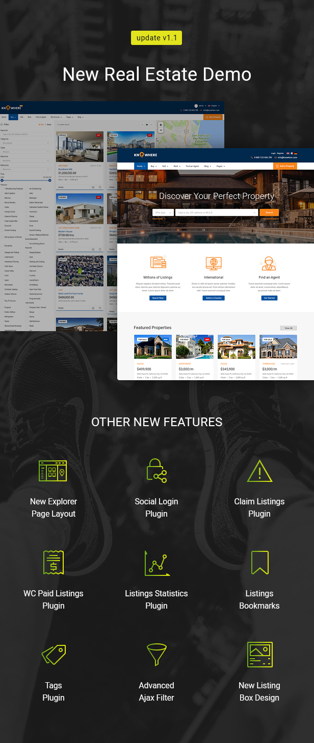 Knowhere Pro - Multipurpose Classified Directory WordPress Theme - 10