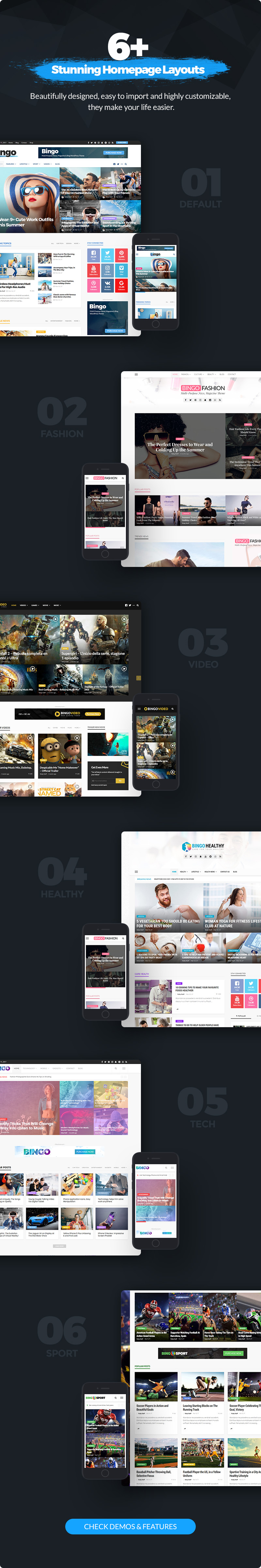 Bingo - Multi-Purpose Newspaper & Magazine Theme - 2