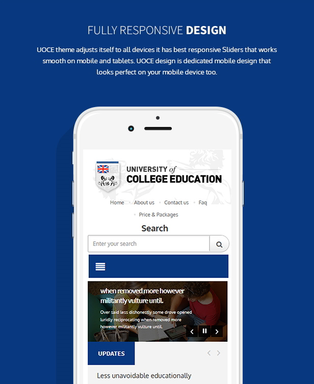 University of education theme