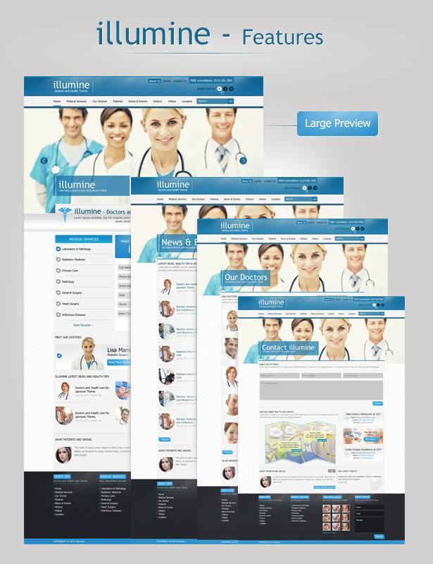 Illumine – Doctors & Health Care HTML template - 6