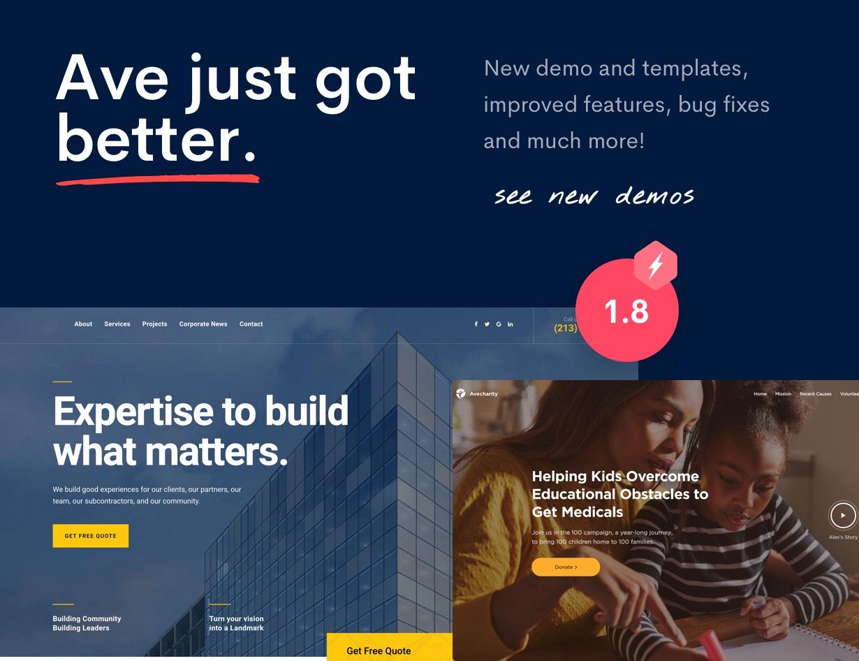 Ave - HTML Responsive Multi Purpose Template - 3