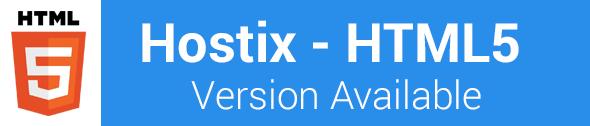 Hostix HTML5 Template
