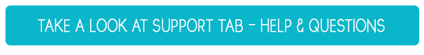 Spport Tab - Updated Help, Common Questions - Support