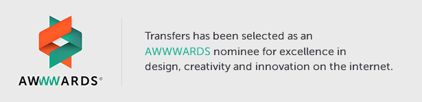 Transfers Awwwards