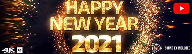 New Year Countdown 2021 Template for Ae