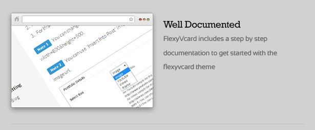 FlexyVcard - Responsive vCard Wordpress Theme - 13