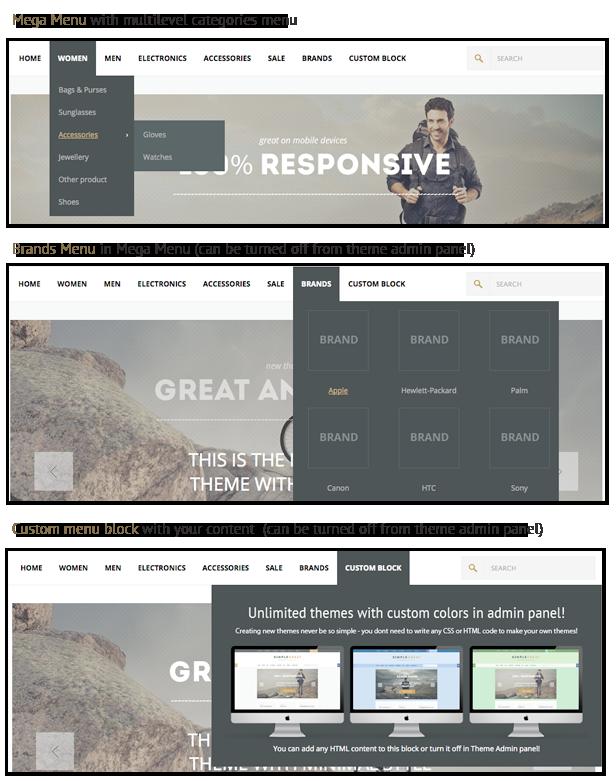 SimpleGreat – Premium Responsive OpenCart theme! - 19