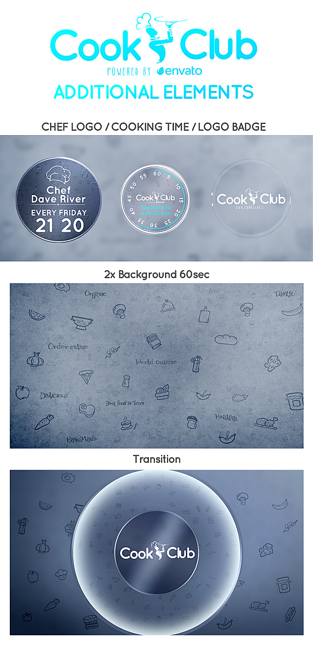Cook Club Broadcast Package - 4