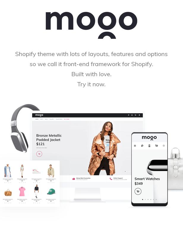 MOGO - premium Shopify theme