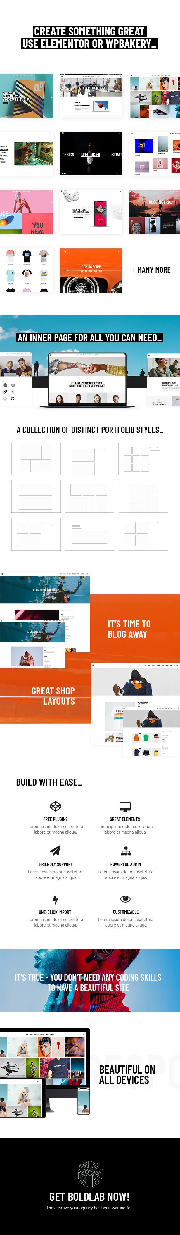 Boldlab - Creative Agency Theme - 1