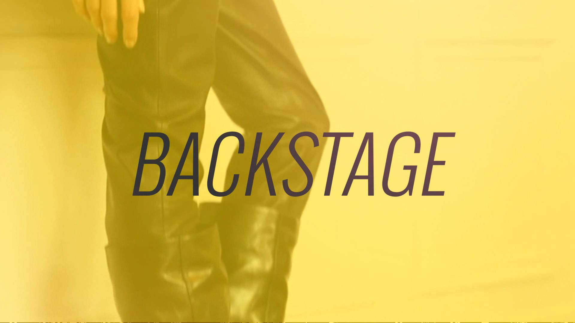 Videohive - Backstage Opener 8929470 - Free After Effects Template