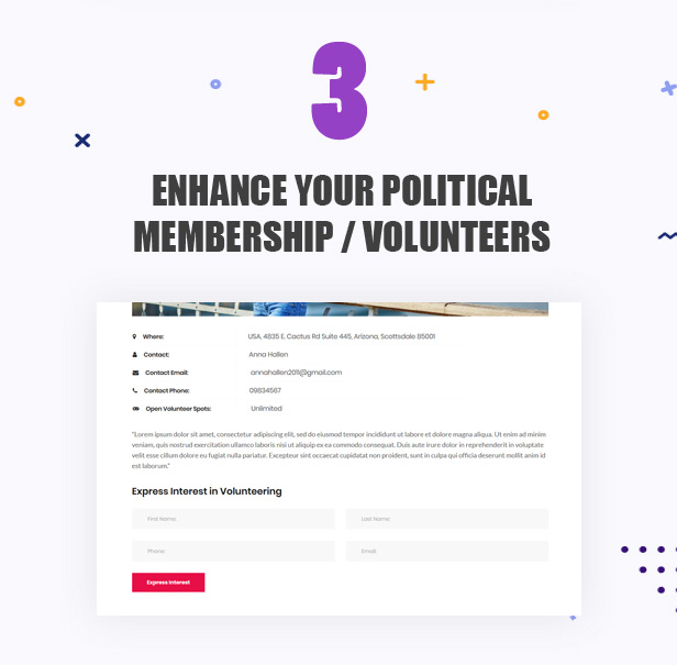 Actavista - A Responsive Political WordPress Theme For Politicians and Organizations - 5